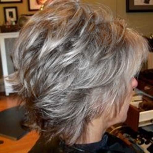 15 Inspirations Of Shaggy Hairstyles For Gray Hair