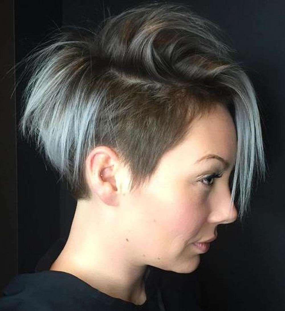 Undercut Short Pixie Hairstyles For Ladies 2018 2019   Page 3 Of 11 With Latest Undercut Pixie Hairstyles (View 3 of 15)