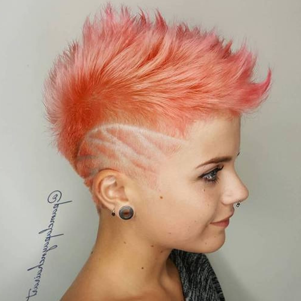 Undercut Short Pixie Hairstyles For Ladies 2018 2019 | Page 9 Of 11 Throughout Most Popular Punk Pixie Hairstyles (View 7 of 15)