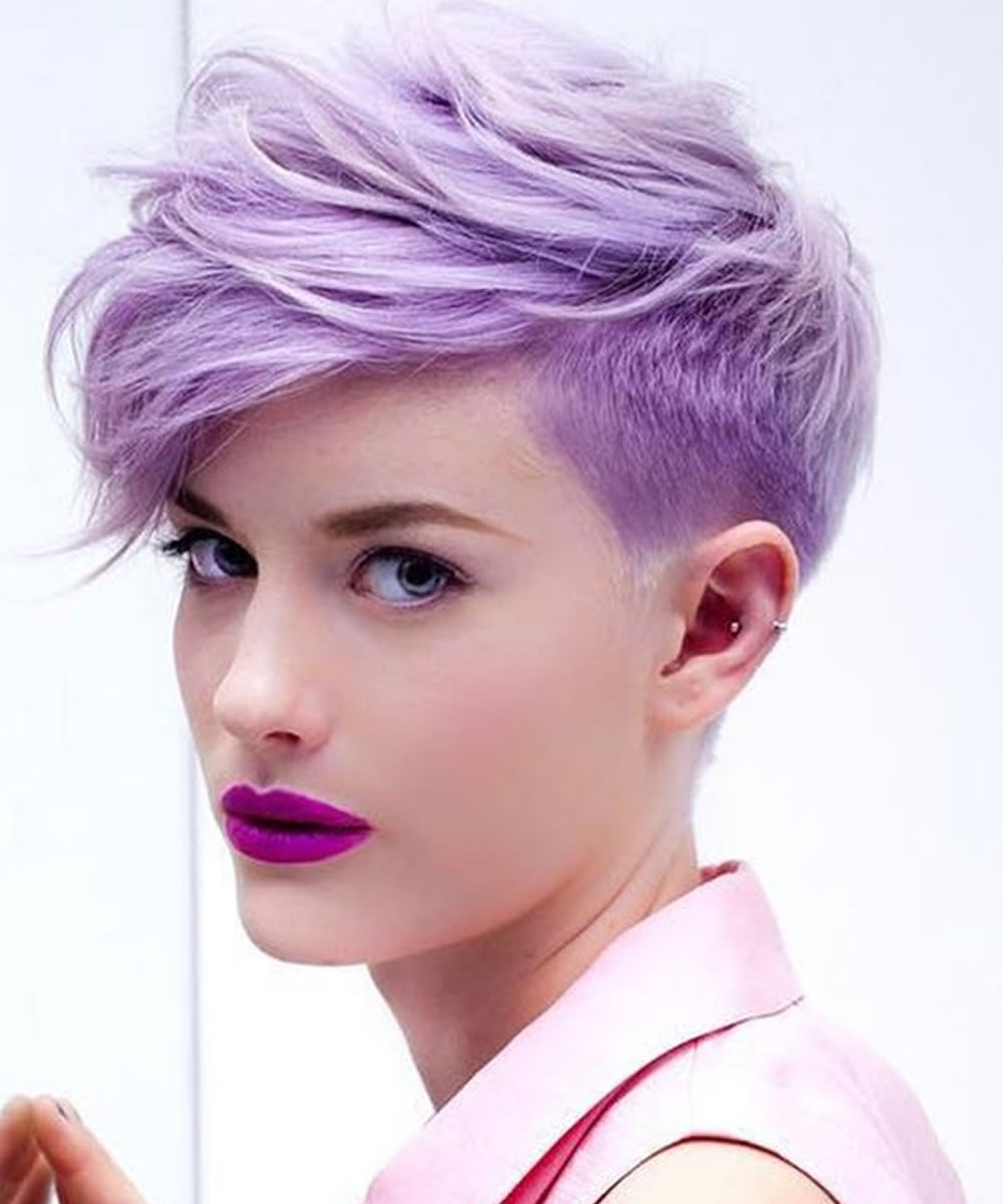 Undercut Short Pixie Hairstyles – Undercut Hairstyles 2018 Pertaining To Most Recent Pink Short Pixie Hairstyles (View 11 of 15)