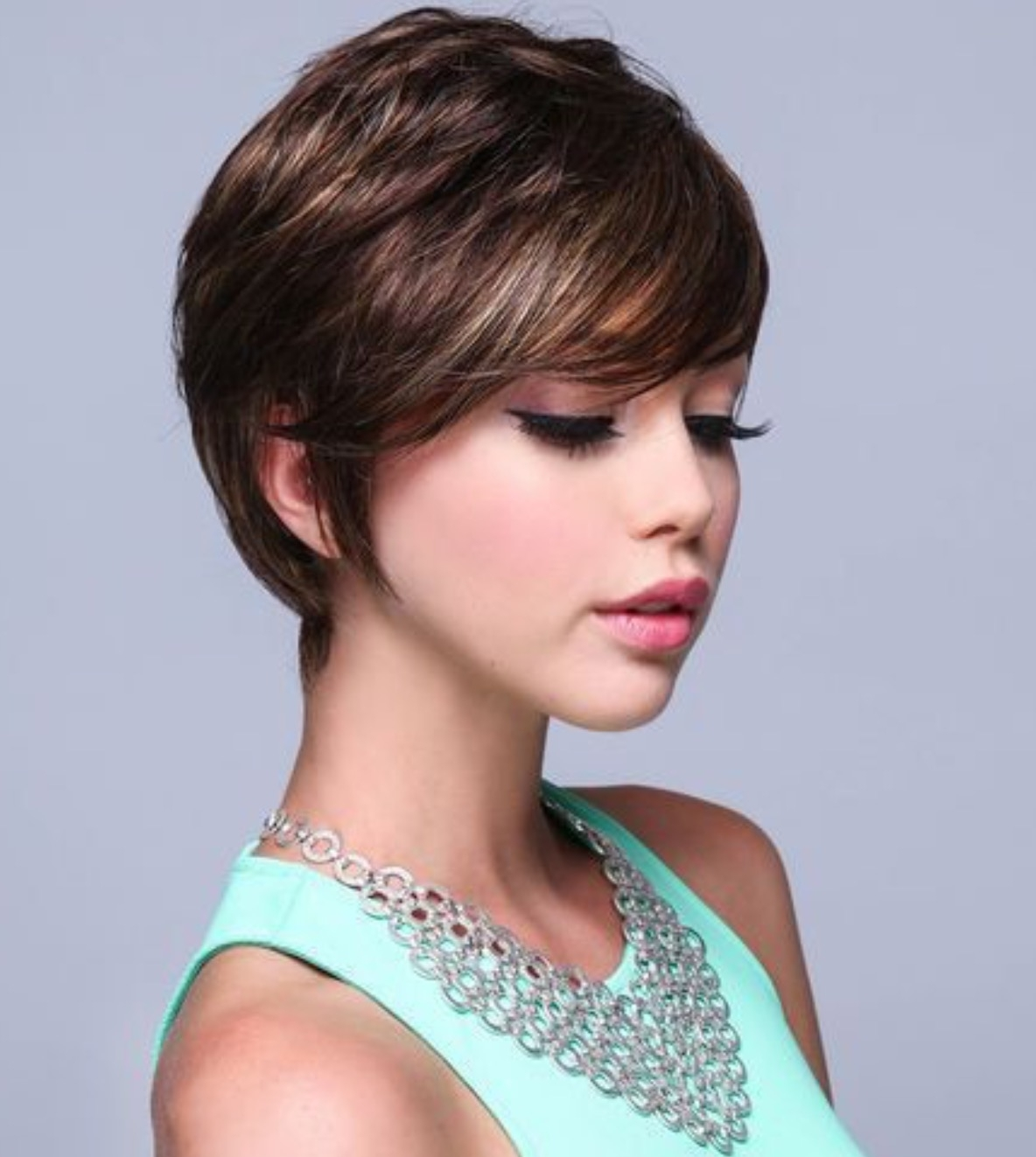 Very Cute Long Pixie Cut   Things That Catch My Eye   Pinterest For Most Up To Date Pixie Hairstyles With Short Bangs (View 12 of 15)