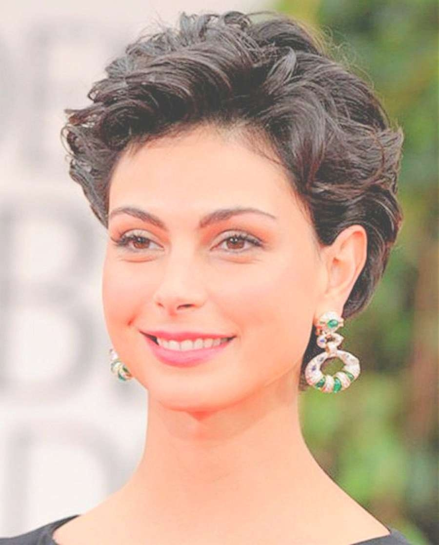 Very Short Hairstyles For Round Faces Curly Hair For Round Faces For Current Actress Pixie Hairstyles (View 15 of 15)