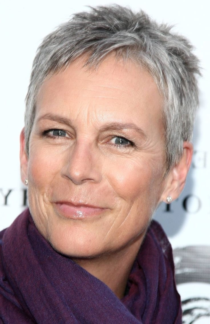 Very Short Hairstyles For Women Over 50 | Short Pixie Haircuts With Regard To Latest Pixie Hairstyles For Women Over (View 14 of 15)