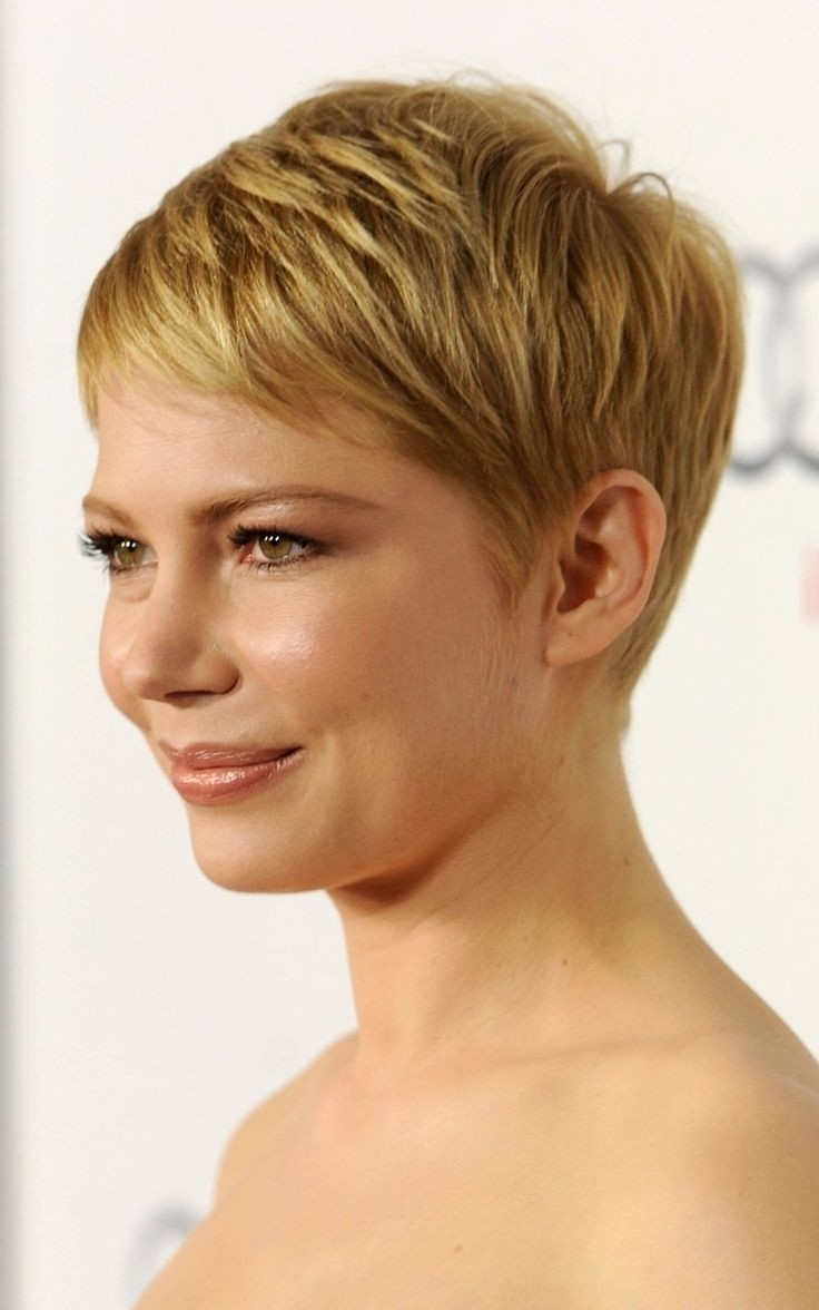 Very Short Hairstyles With Fringe – Women Medium Haircut Inside Best And Newest Pixie Hairstyles With Fringe (View 15 of 15)