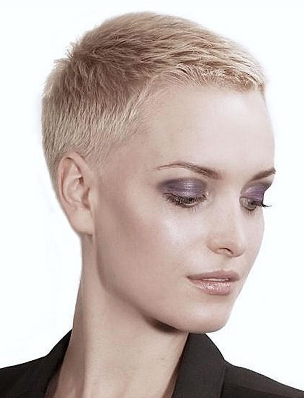15 Photos Short Blonde Pixie Hairstyles