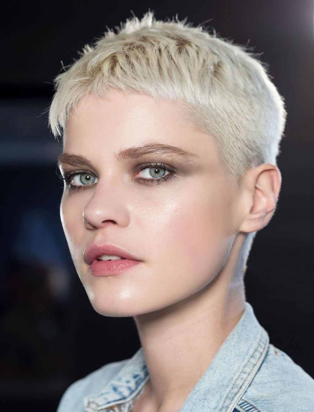 Showing Photos Of Short Bangs Pixie Hairstyles View 6 Of 15 Photos