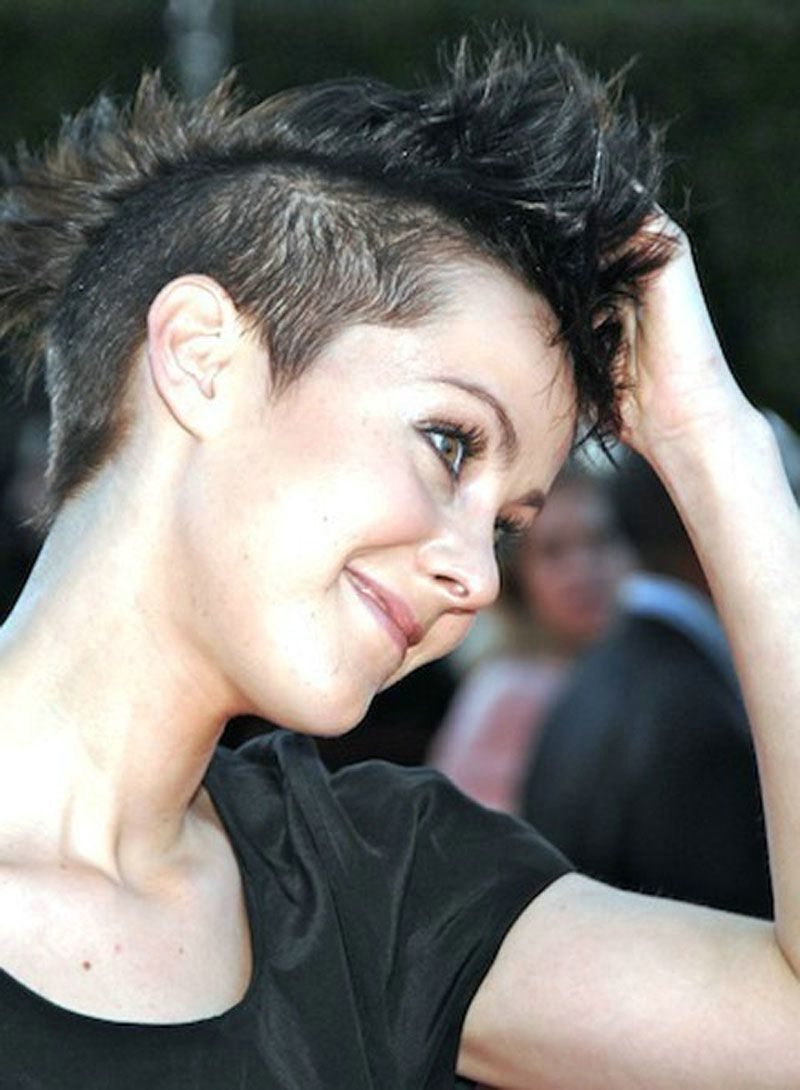 Very Short Punk Hairstyles For Women – Women Short Hairstyles In Latest Punk Rock Pixie Hairstyles (View 12 of 15)