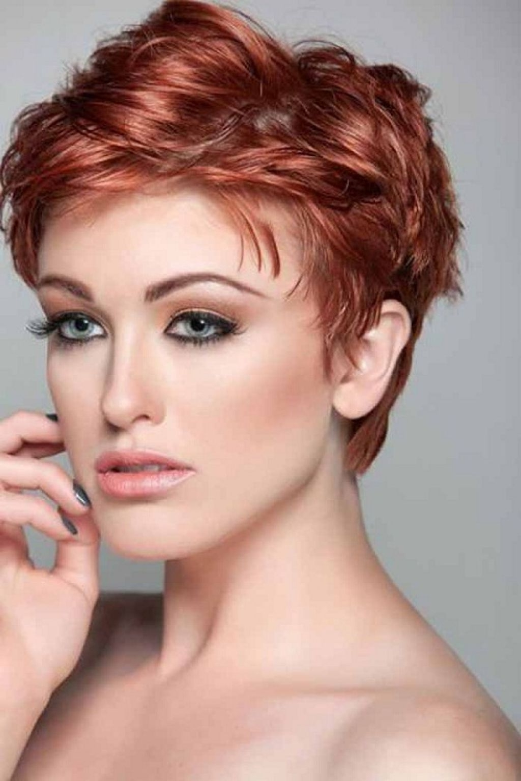 Short Pixie Haircuts For Curly Hair Best Curly Hair Style 2018