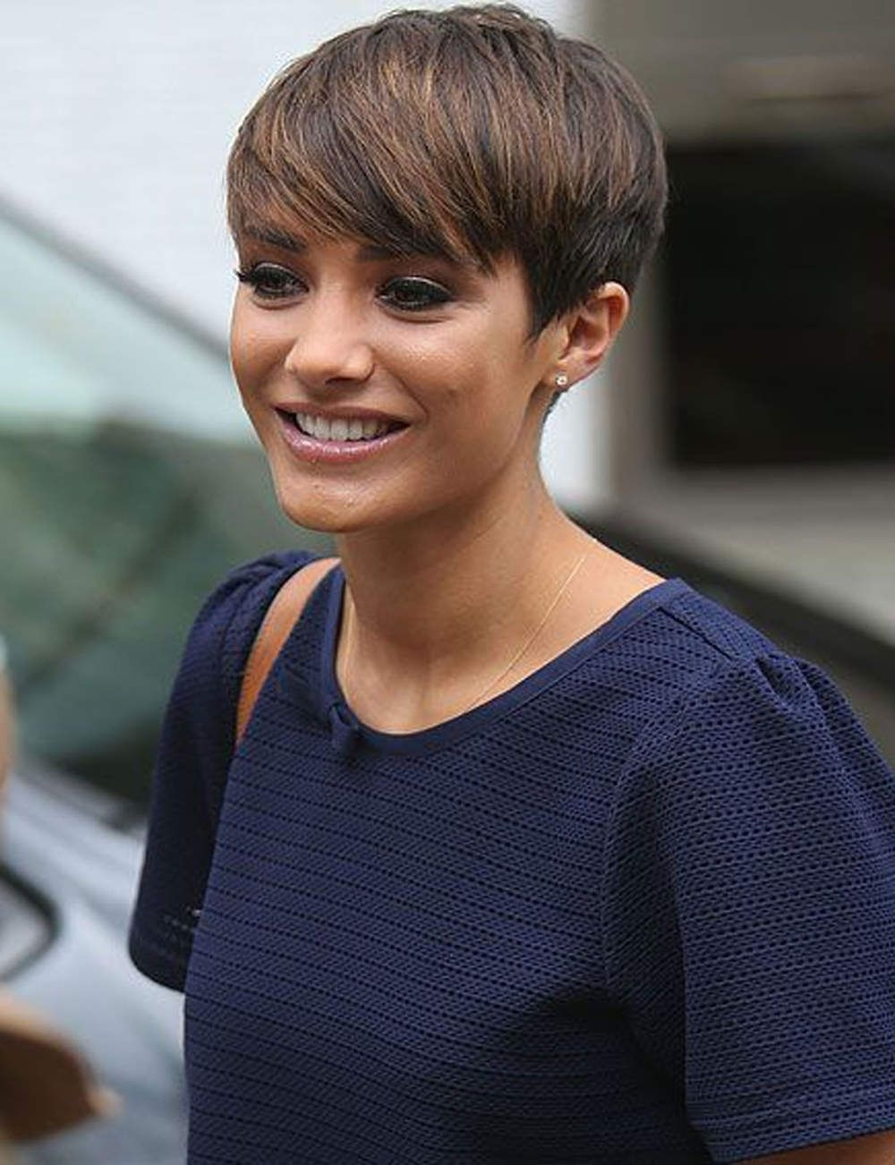 Vivacious Short Pixie Haircuts With Highlights   Hairdrome In Most Recent Pixie Hairstyles For Dark Hair (View 3 of 15)
