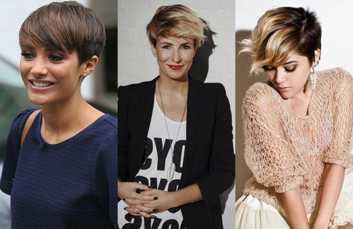 Vivacious Short Pixie Haircuts With Highlights | Hairdrome Within Most Recently Long To Short Pixie Hairstyles (View 14 of 16)