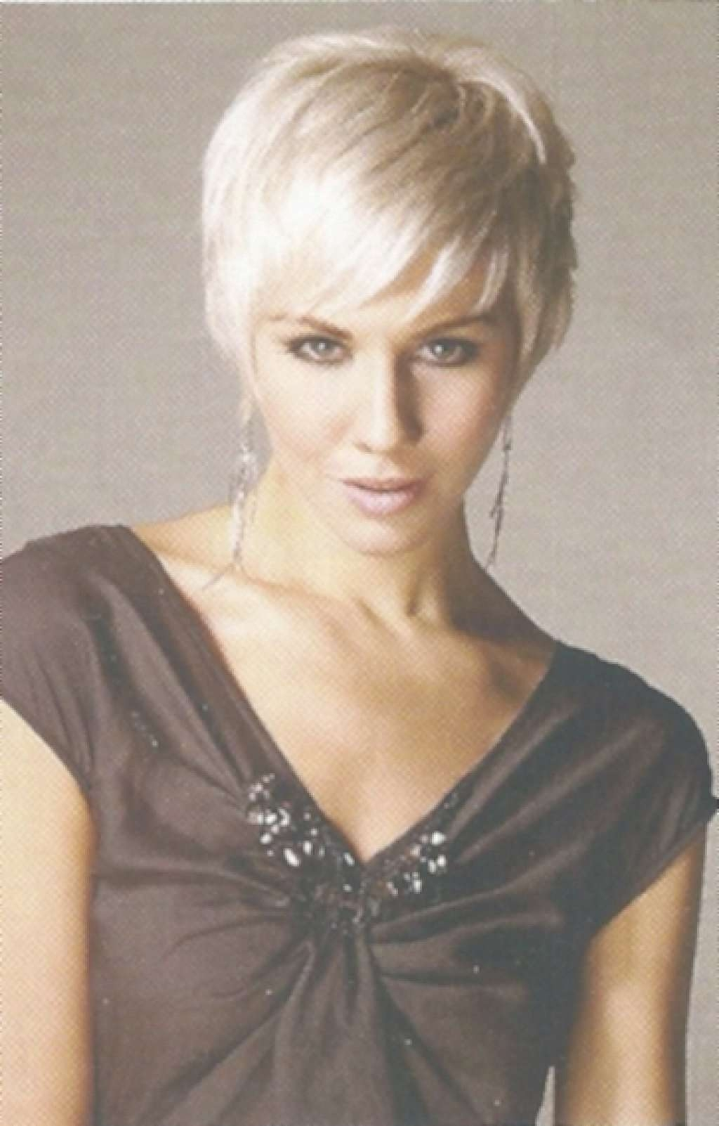Women Hairstyles For Thin Hair Pixie Haircut For Newest Blonde Pixie Hairstyles (View 14 of 15)