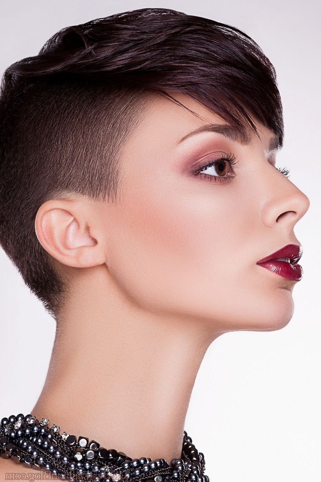 Womens Hair With Shaved Sides And Long Top Modern Pixie Haircuts Within Most Up To Date Pixie Hairstyles With Long On Top (View 10 of 15)