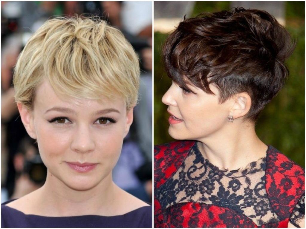 Womens Haircuts With Bangs 2017 | Short, Long, Medium Length Hair With Regard To Most Popular Pixie Hairstyles With Fringe (View 12 of 15)