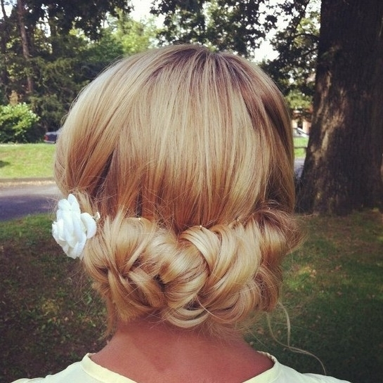 10 Chignon Updos For Wedding – Hairstyles Weekly With Regard To Most Current Chignon Updo Hairstyles (View 7 of 15)