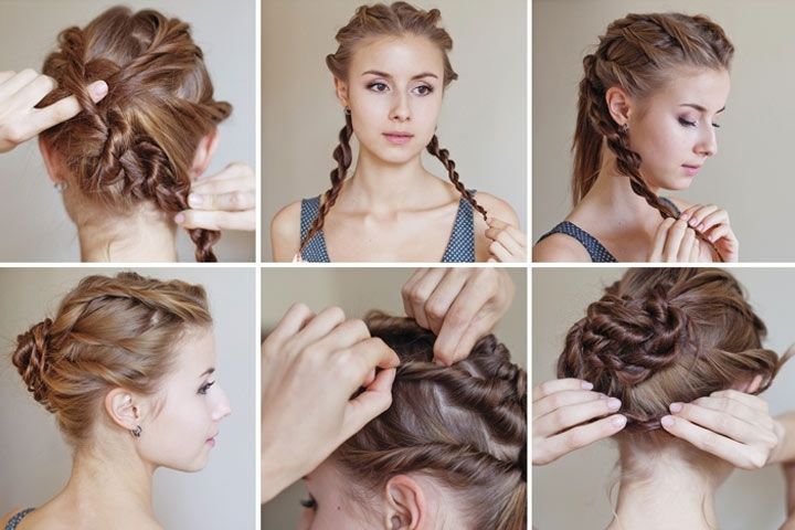10 Cute And Easy Teenage Girl Hairstyles For School For Latest Updo Hairstyles For School (View 1 of 15)