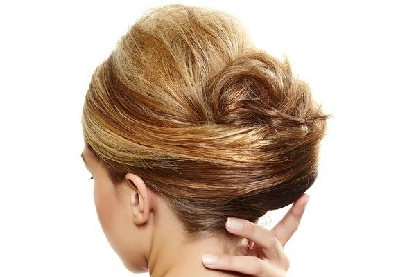 10 Easy (& Glamorous!) Updos For Medium Length Hair For Most Popular Easy Updo Hairstyles For Medium Hair (View 2 of 15)