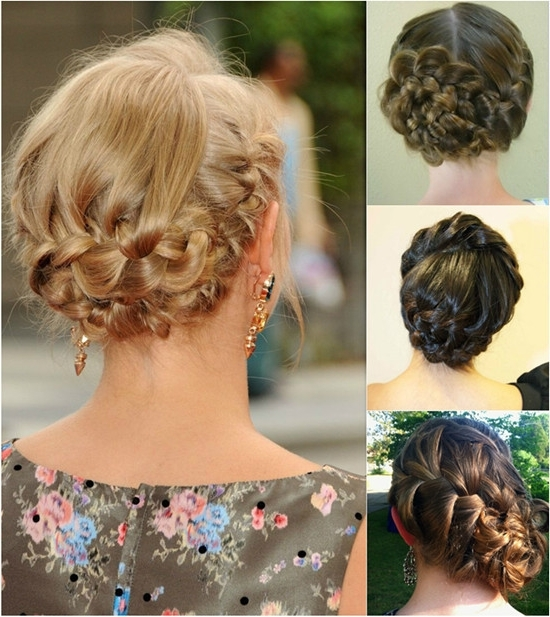 10 Minutes To Style Holiday Hairstyles With 18 Inch Hair Extensions For Most Recently Braided Updo Hairstyles With Extensions (View 5 of 15)