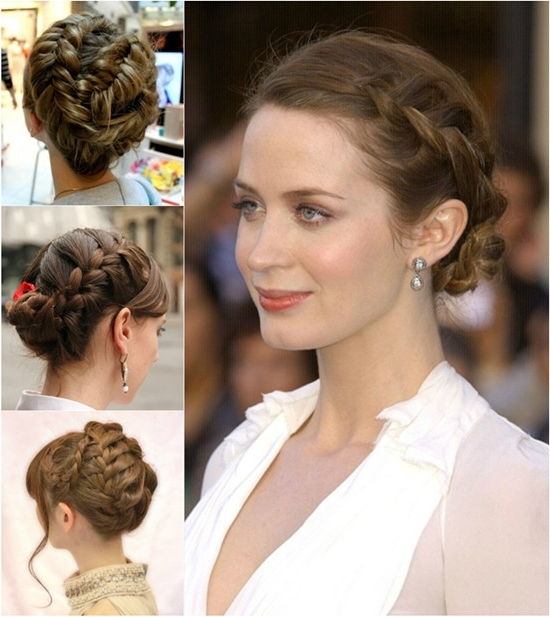10 Minutes To Style Holiday Hairstyles With 18 Inch Hair Extensions Pertaining To Most Current Braided Updo Hairstyles With Extensions (View 11 of 15)