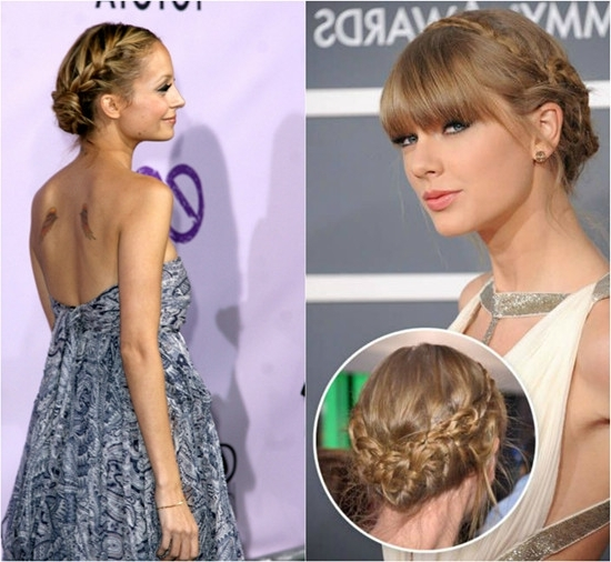 10 Minutes To Style Holiday Hairstyles With 18 Inch Hair Extensions Within Most Current Braided Updo Hairstyles With Extensions (View 15 of 15)