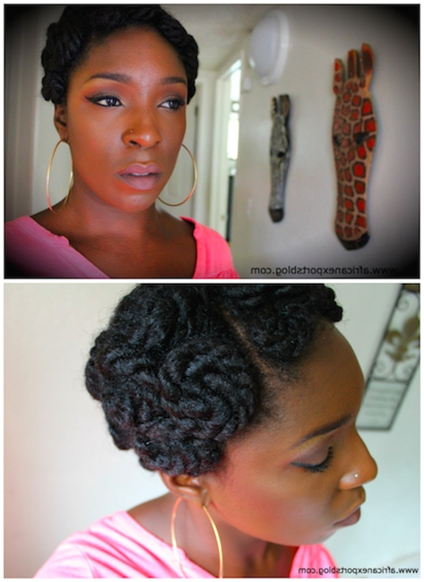 10 Of The Most Gorgeous And Creative Chunky Twist Styles   Twist Regarding 2018 Chunky Twist Updo Hairstyles (View 15 of 15)