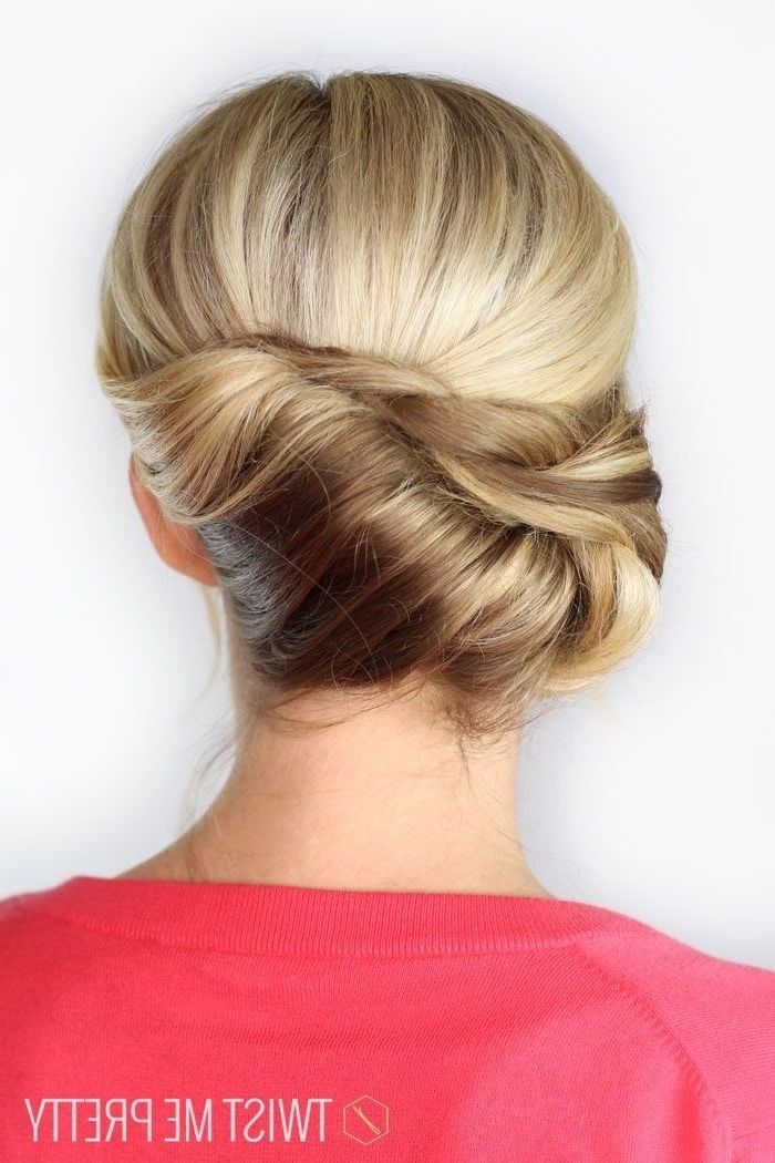 10 Pretty French Twist Updo Hairstyles – Popular Haircuts Within Newest French Twist Updo Hairstyles (View 1 of 15)