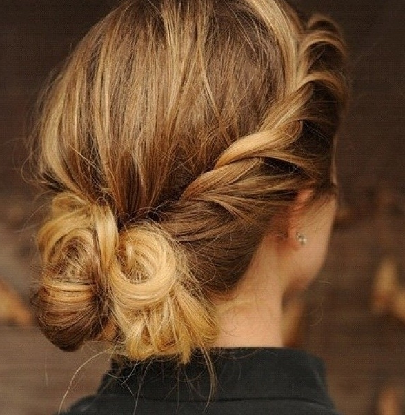 10 Trendy Messy Braid Bun Updos – Popular Haircuts Inside Most Up To Date Messy Bun Updo Hairstyles (View 13 of 15)