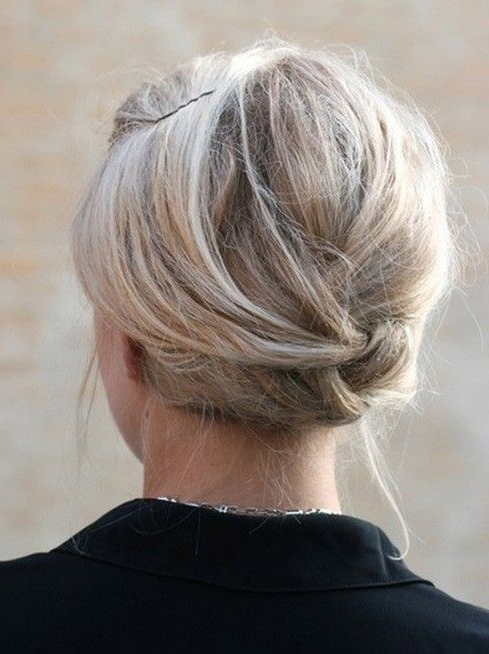 10 Updo Hairstyles For Short Hair | Everyday Hairstyles, Updos And Throughout Recent Everyday Updos For Short Hair (View 3 of 15)