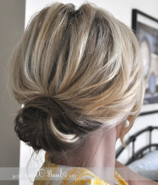 10 Updo Hairstyles For Short Hair – Popular Haircuts Pertaining To 2018 Updo Hairstyles For Short Hair (View 1 of 15)