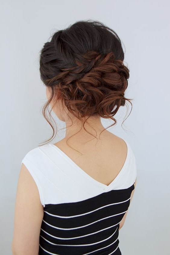 100 Most Pinned Beautiful Wedding Updos Like No Other | Updos, Chic Regarding Latest Wedding Updo Hairstyles For Medium Hair (View 12 of 15)