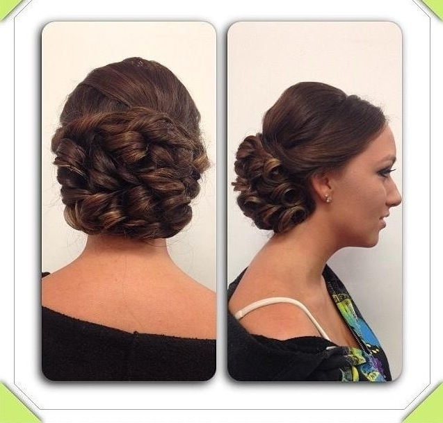 107 Best Sweet 16 Images On Pinterest | Bridal Hairstyles, Gorgeous With Regard To Best And Newest Updo Hairstyles For Sweet (View 4 of 15)