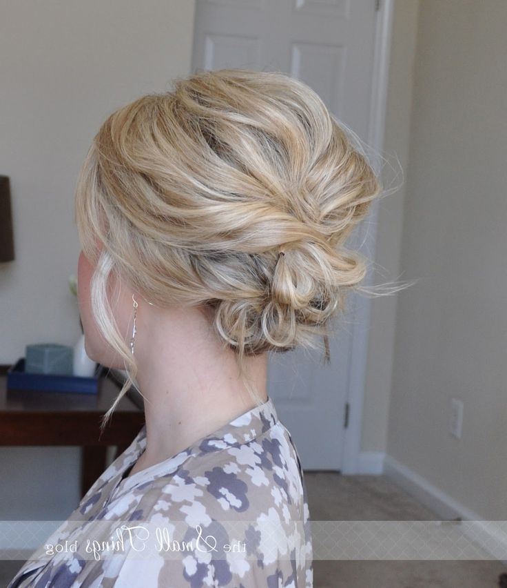 11 Best Fine Hair Updos Images On Pinterest | Cute Hairstyles, Hair For Newest Messy Updo Hairstyles For Thin Hair (View 15 of 15)