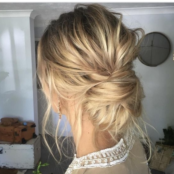 11+ Best Low Bun Hairstyles 2017 | Low Buns, Bridal Hairstyle And Intended For Most Recently Easy Low Bun Updo Hairstyles (View 1 of 15)