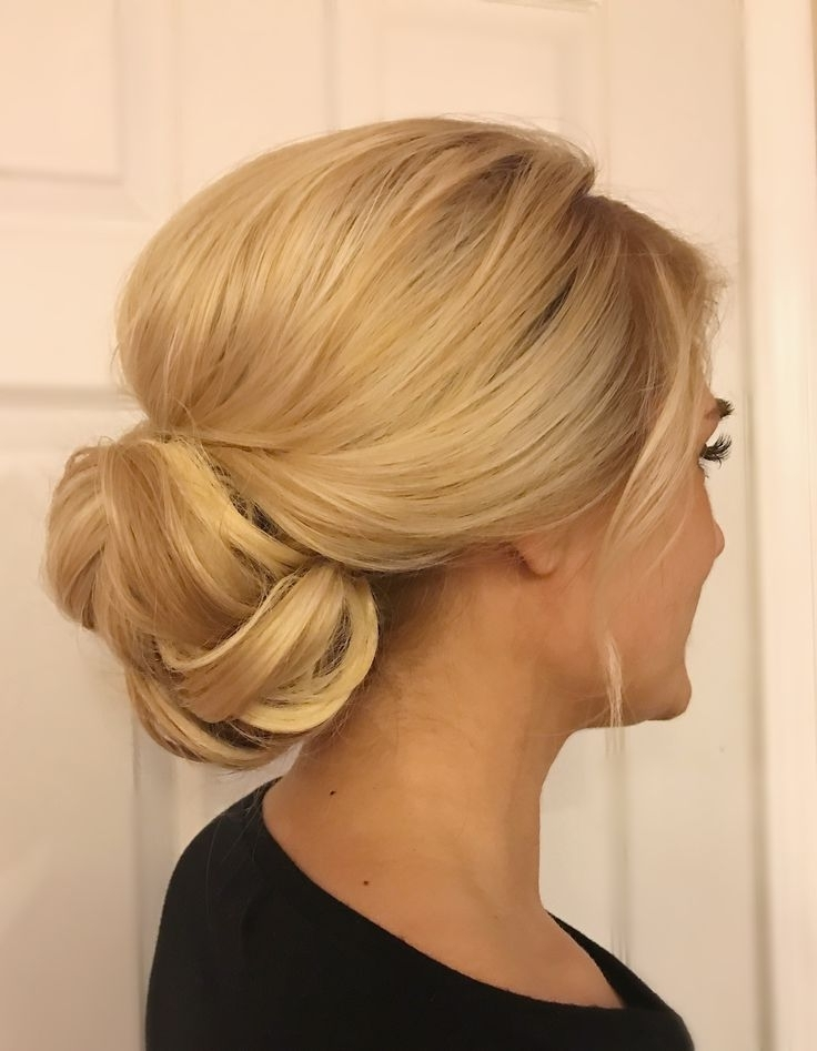 111 Best Wedding Hair Images On Pinterest | Wedding Hair Styles Throughout Most Recently Low Bun Updo Hairstyles For Wedding (View 4 of 15)