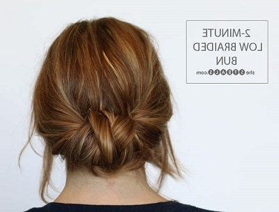 12 Easy Office Updos: Buns, Chignons & More For Busy For Professionals In Current Professional Updo Hairstyles For Long Hair (View 14 of 15)
