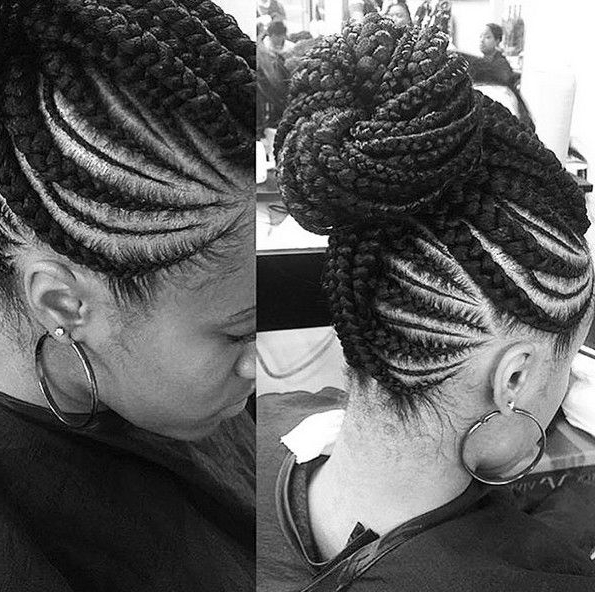 12 Pretty African American Braided Hairstyles | African Hair With 2018 Braided Updo Black Hairstyles (View 11 of 15)
