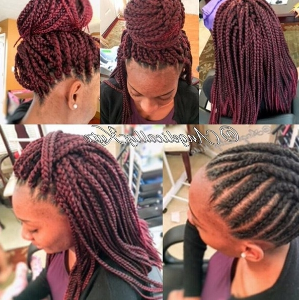 12 Pretty African American Braided Hairstyles – Popular Haircuts Within Most Popular Crochet Braid Pattern For Updo Hairstyles (View 15 of 15)
