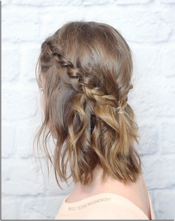 12 Prom Hairstyles For Shorter Hair – Hairlori Within Recent Homecoming Updos For Medium Length Hair (View 9 of 15)