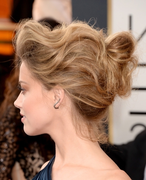 12 Romantic Lower Updo Hairstyles Suited For Every Occasion – Pretty With Current Loose Bun Updo Hairstyles (View 15 of 15)
