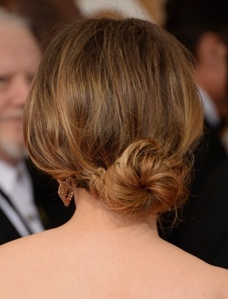 12 Romantic Lower Updo Hairstyles Suited For Every Occasion – Pretty With Most Recent Loose Bun Updo Hairstyles (View 8 of 15)