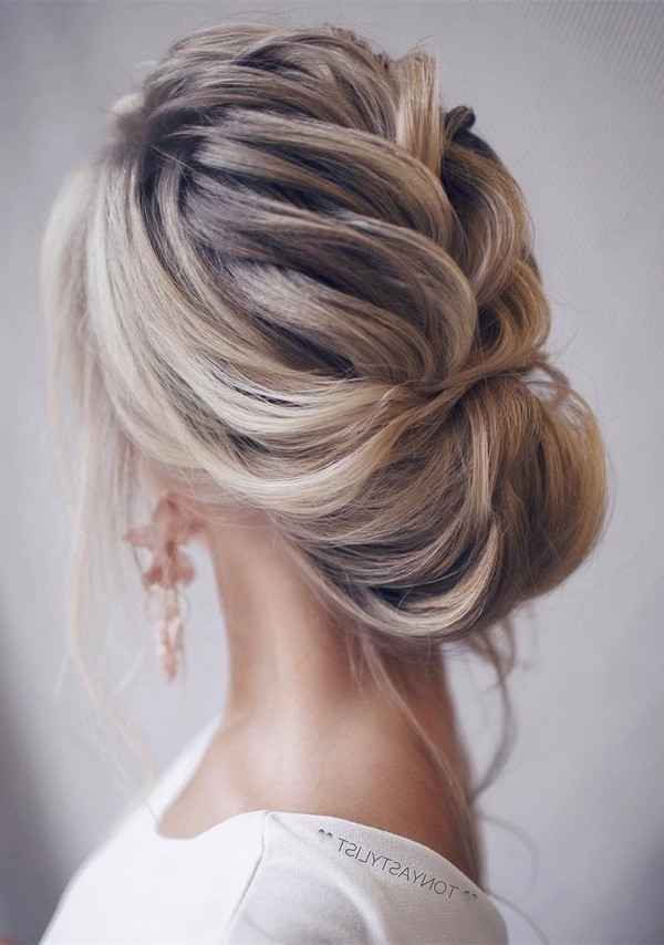12 So Pretty Updo Wedding Hairstyles From Tonyapushkareva With Regard To Recent Pretty Updo Hairstyles (View 10 of 15)