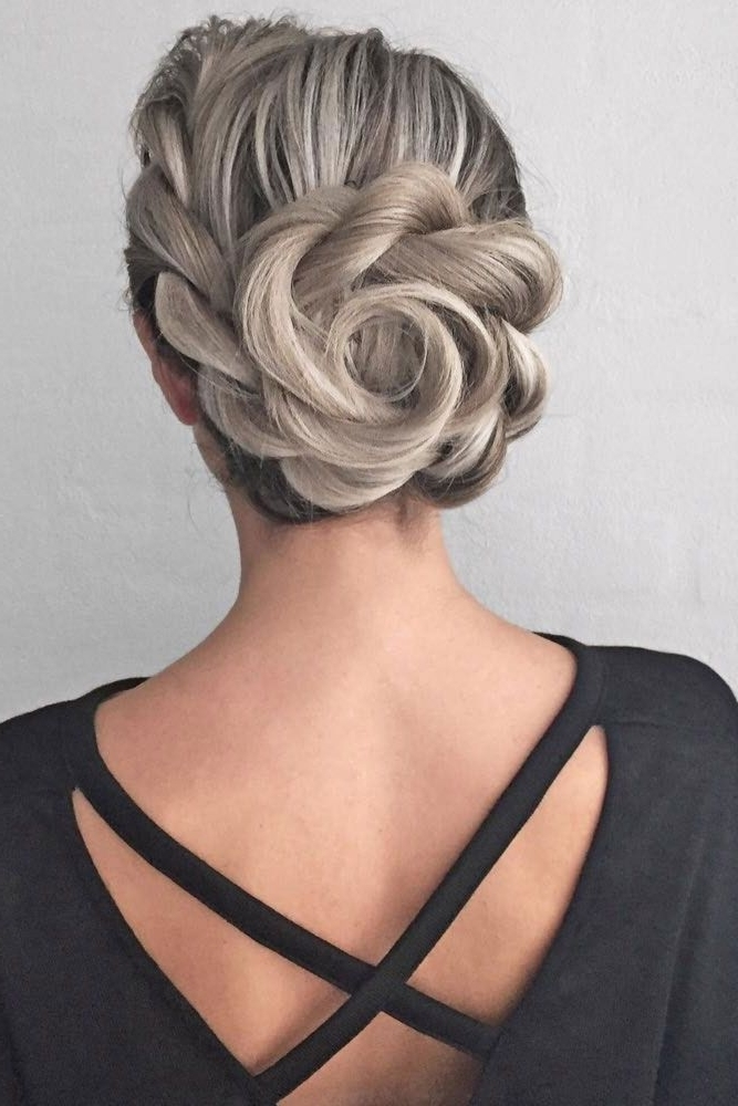 12 Updos For Medium Length Hair | Updos, Hair Style And Prom Inside Latest Fancy Updo Hairstyles (View 2 of 15)