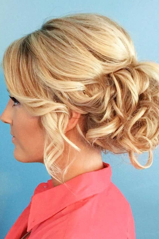 12 Updos For Medium Length Hair | Updos, Medium Length Hairs And Updo In Current Fancy Updos For Medium Length Hair (View 3 of 15)