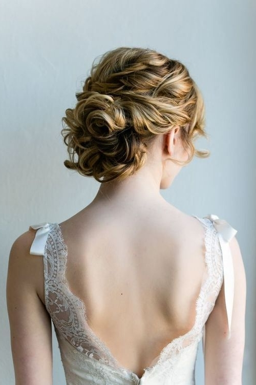 13 Best Hair Up Do's Images On Pinterest | Wedding Hairstyle, Bridal Regarding Most Current Wedding Updo Hairstyles For Shoulder Length Hair (View 15 of 15)