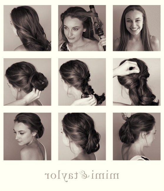 13 Fantastic Hairstyle Tutorials For Ladies | Updo, Updo Tutorial With Regard To 2018 Diy Updo Hairstyles For Long Hair (View 2 of 15)