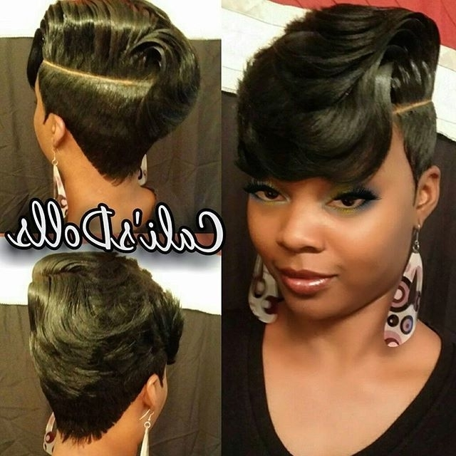 134 Best Sexy Fierce Images On Pinterest | Short Bobs, Hair Dos And Pertaining To Most Up To Date Quick Weave Updo Hairstyles (View 1 of 15)