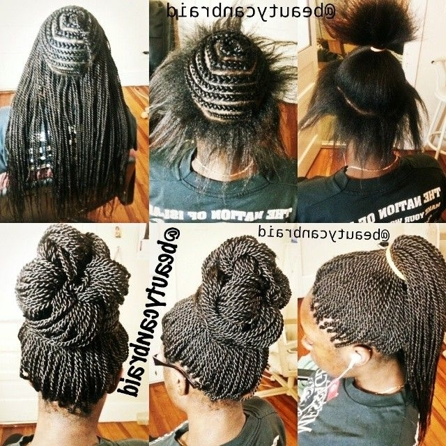 135 Best Crochet Braids Images On Pinterest | Natural Hairstyles With Most Popular Crochet Braid Pattern For Updo Hairstyles (View 6 of 15)
