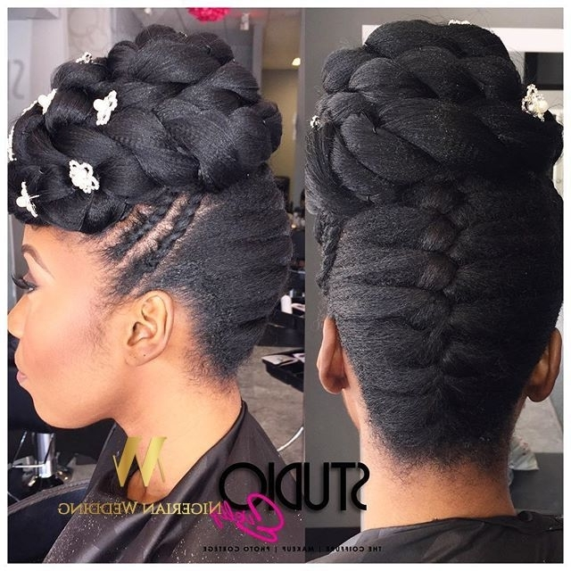 137 Best Look Goddess Briads Images On Pinterest | African Throughout Best And Newest Goddess Updo Hairstyles (View 1 of 15)