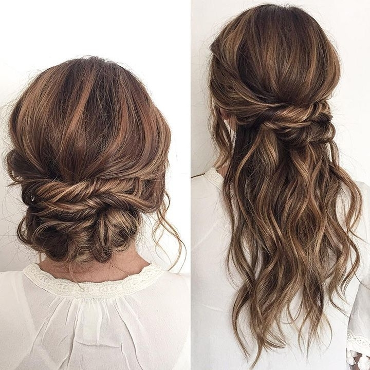 1385 Best Hair Images On Pinterest | Hairstyle Ideas, Make Up Looks Intended For Most Popular Half Up Half Down Updo Hairstyles (View 14 of 15)