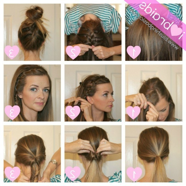 14 Pretty Hairstyle Tutorials For 2015 | Styles Weekly With Most Popular Quick Updos For Long Hair Casual (View 2 of 15)