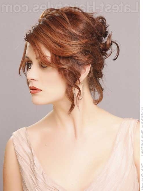 Photo Gallery of Wedding Updo Hairstyles For Short Hair (Showing 4 ...